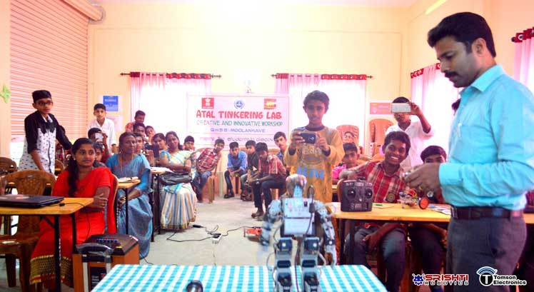 Atal Tinkering Lab Robotics Training