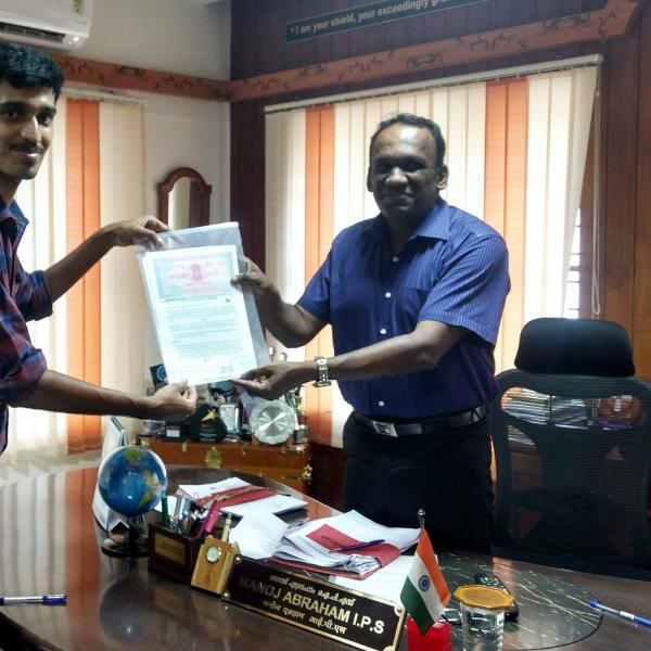 MoU with Kerala Police Cyberdome