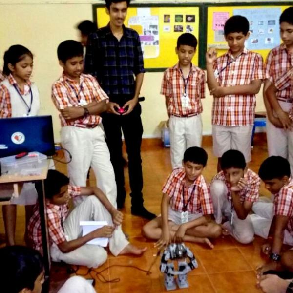 Vidyodaya School Robotics Workshop
